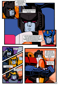 Transformers: Bloodline PAGE 26 by KingRebecca