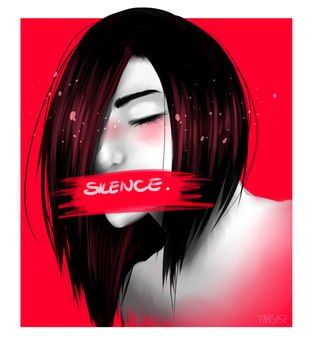 Silence. by Thasase1002