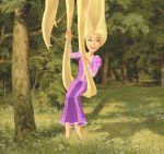 Disney's Rapunzel (colored) by BloodyWilliam