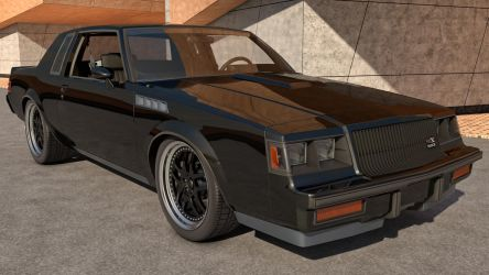 1987 Buick Regal GNX by SamCurry