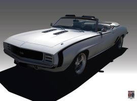1969 Chevrolet Camaro SS by Imperatore34