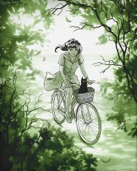 Bicycle by Camille-Marie