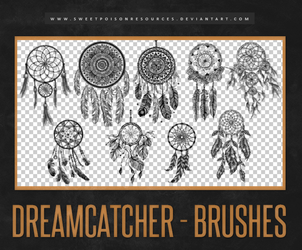 Dreamcatcher Brushes   Photoshop by sweetpoisonresources