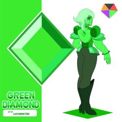 Green Diamond by LadyHeinstein
