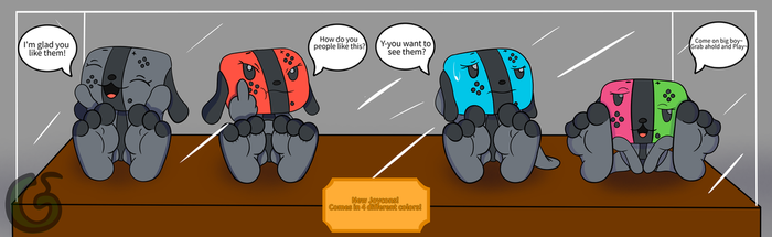 Switch Dog Line Up by GodaDuhSlime