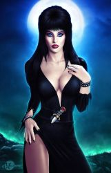 Elvira, Mistress of the Dark by martaino