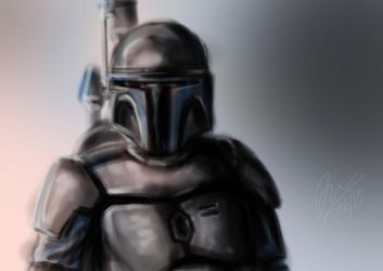Jango Fett Tryout by darkyre20