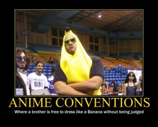 Banana brother motivational by Shippuden23