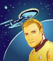 Shatner's Kirk by Pudsybear