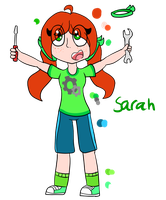 Sarah redesign by OctoWeeb