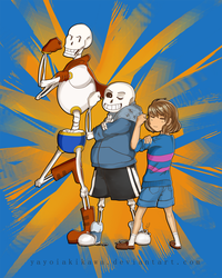 Undertale_We can do it by Kaiserglanz