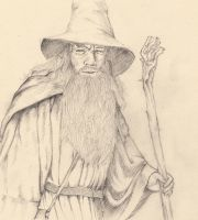 Gandalf by Leadto-Light