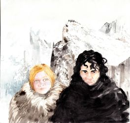 Ygritte and Jon Snow