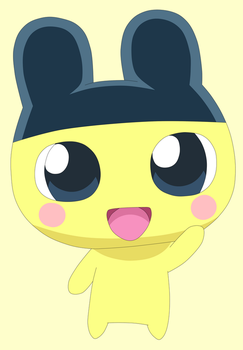 Hello Mametchi by Cansin13Art
