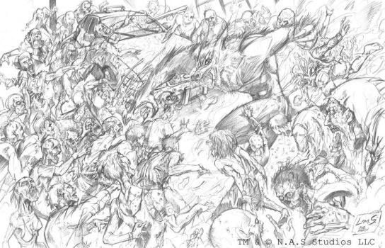 The Cursed and the Damned aka WW vs Zombies by NASStudiosLLC