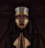Prayer concept by eschata