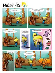 Animated Metroid Comic page GIF by Alainprem