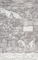 The Stars 3 Page 3 Pencils by KurtBelcher1