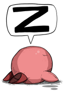 Sleeping Kirby by Prickblad