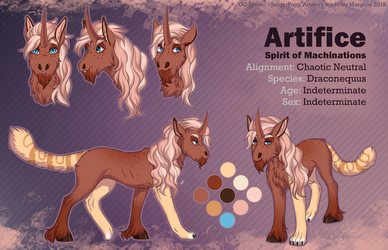 Artifice ref commission by Margony