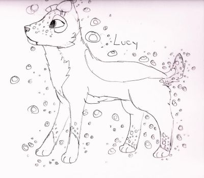 Introducing... Lucy!!! by Canine--Artist