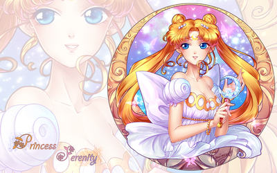 Princess Serenity WP by kaminary-san