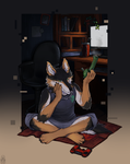 Smoke in the Room (Comm) by Kate-Venom