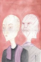 The Man with Two Faces by Giulia-Imbriani