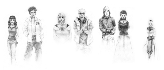 Characters by rahah