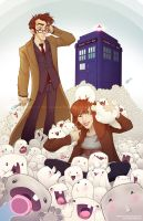 Ten, Donna and the AdiProblem by Javadoodle