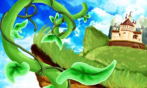 J + Beanstalk Background by Lrme87