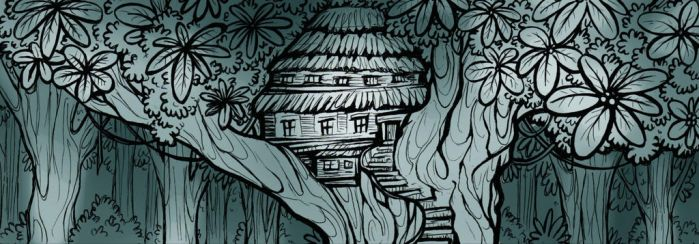 RTI - A house on a tree by FortunataFox