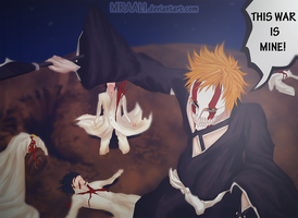 Ichigo at War by MrAali