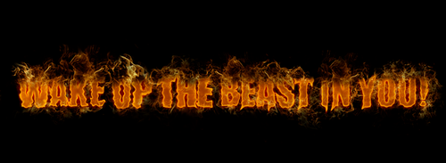 wake up the beast in you! by keitos