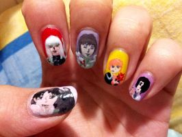 Fruits Basket Nails by aniapaluch