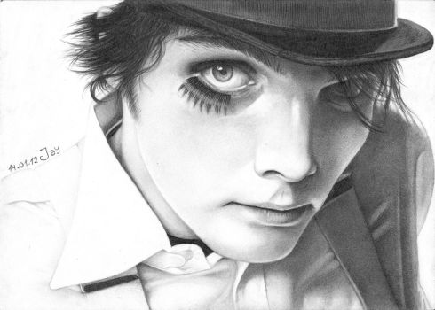 Gerard Way by Lucky-Jacky