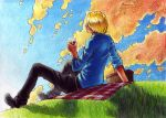 HAPPY BIRTDAY SANJI-SAN by taintedsilence