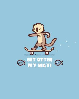 Otter my way by randyotter