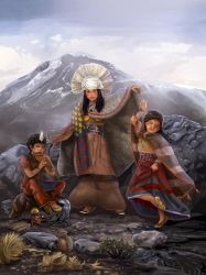 The Children of Llullaillaco by fresco-child