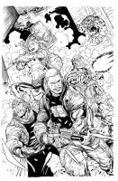 Suicide Squad by Syaf, inks Curiel by lobocomics