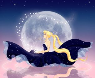 Moon princess by katewind