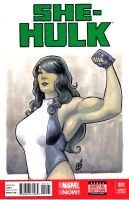 The Sensational She-Hulk by BigChrisGallery