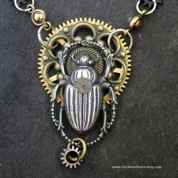Mythological Steampunk jewelry by clockwork-zero