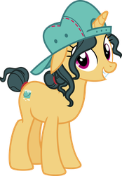 Mlp Fim Pretty Painter (happy) vector by luckreza8
