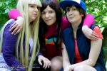 Gravity Falls | Dipper, Mabel and Pacifica | I by Wings-chan