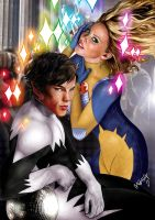Northstar and Dazzler: Into the Spotlight by Manux160983