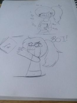 When People Talk to Me While I Draw by MLPKratts