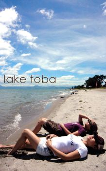 lake toba by krystamelia
