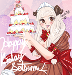 Happy Lily Cafe Birthday Setsuna22 by missnokitty