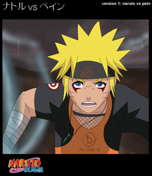 Naruto vs Pein .anime version. by The-vizard